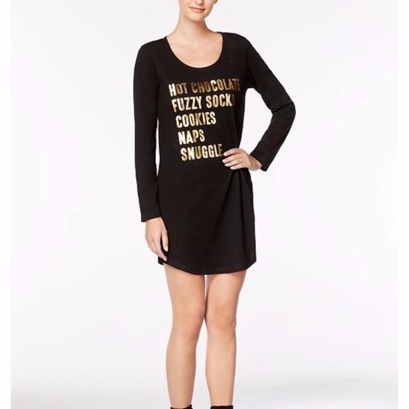 6648a6e399e9 Jennifer Moore Intimates & Sleepwear | Jenni By Graphic Sleepshirt ...